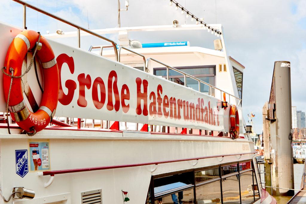 Die Große Hafenrundfahrt mit Barkassen-Meyer