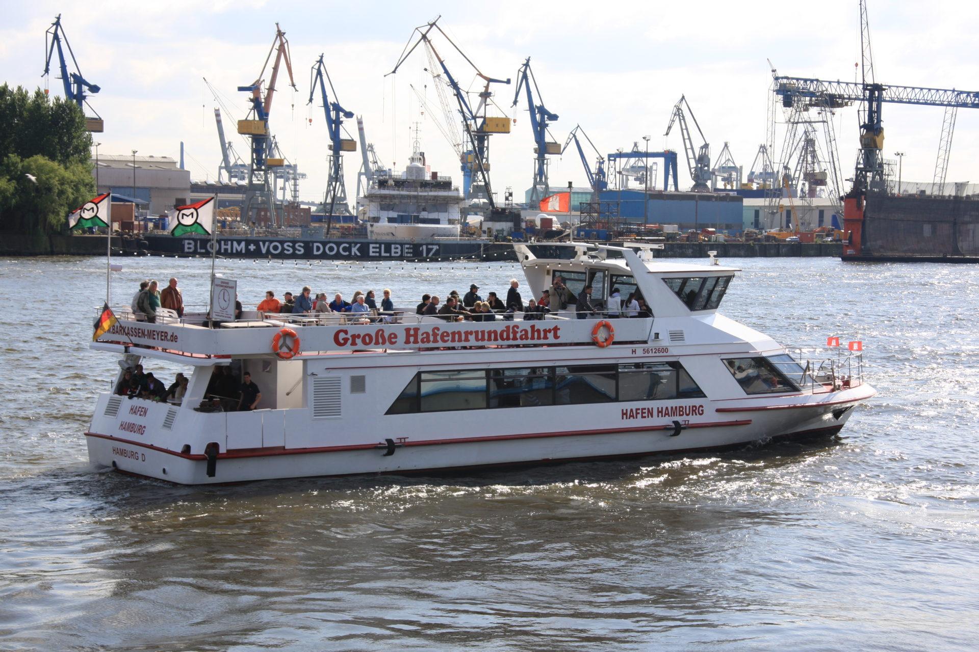 Die Große Hafenrundfahrt mit Barkassen-Meyer (Foto: Wunder)