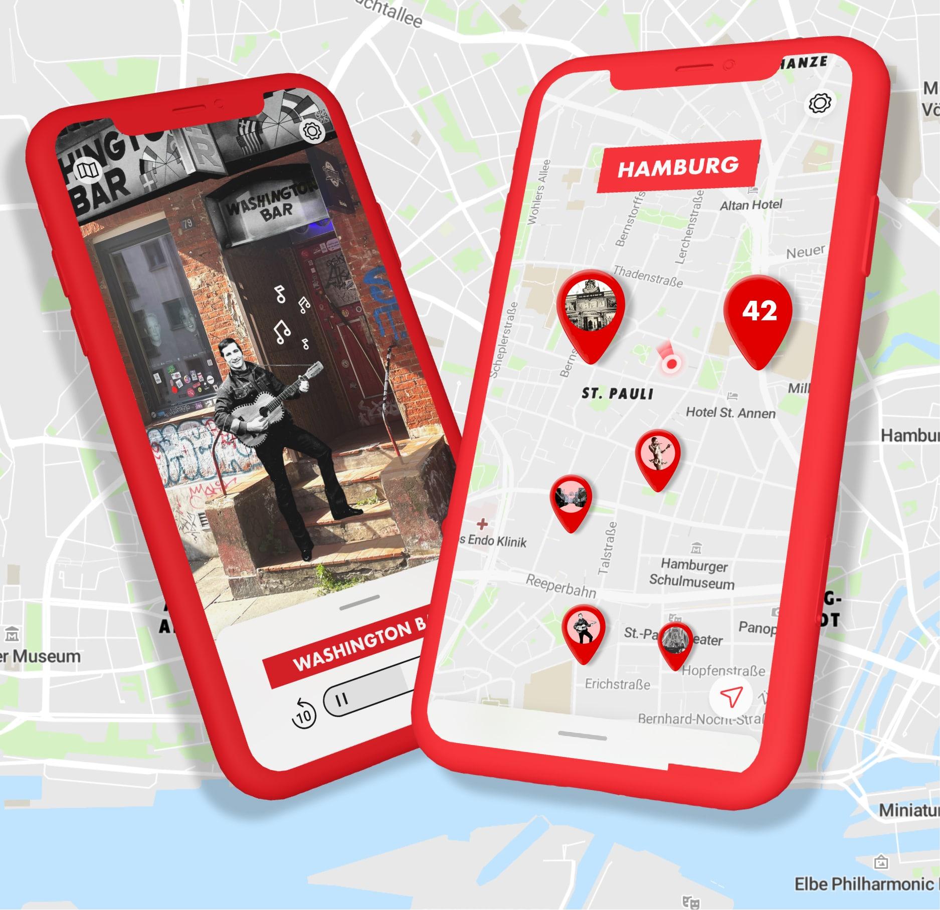 Gehe mit der MOPO auf eine virtuelle Zeitreise durch Hamburg.